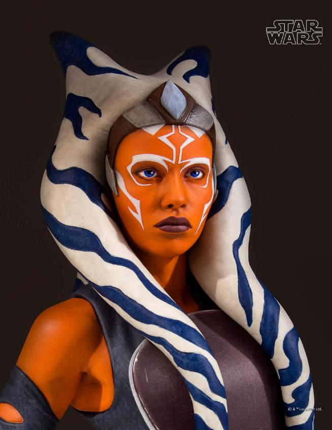 Gentle Giant Star Wars The Clone Wars Ahsoka Tano Mini Bust Ahsoka20