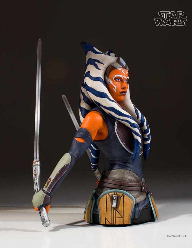 Gentle Giant Star Wars The Clone Wars Ahsoka Tano Mini Bust Ahsoka21