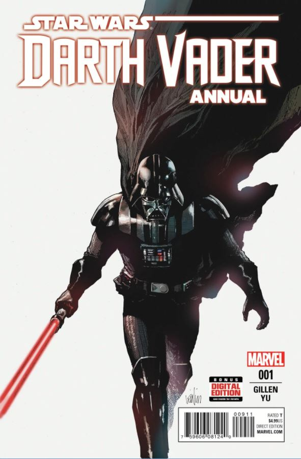 MARVEL STAR WARS US - DARTH VADER ANNUAL Annual10