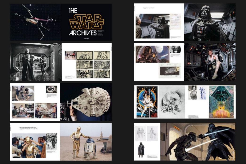 THE STAR WARS ARCHIVES (1977-1986) Paul Duncan - Taschen Archiv11