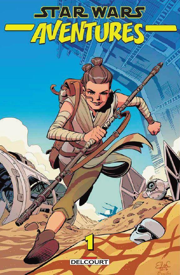 DELCOURT - Star Wars Aventures tome 01 Aventu10