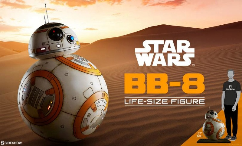 Sideshow Collectibles - BB-8 Life Size Figure Bb8_ls10