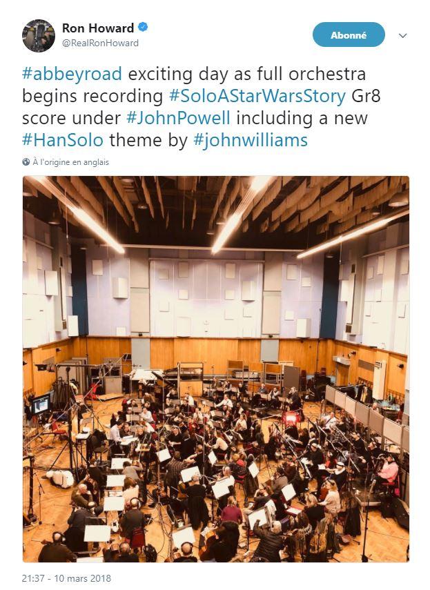 Solo - SOLO A Star Wars Story - La B.O.   Bo_0110