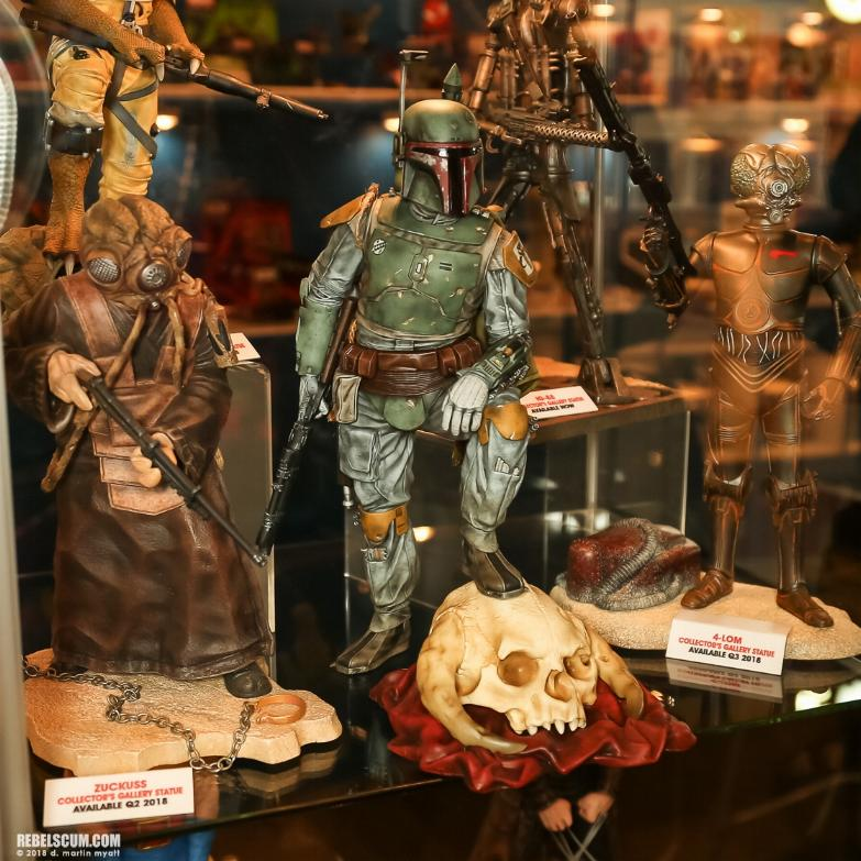 Gentle Giant - Star Wars Boba Fett 1:8th scale statue  Boba_c13