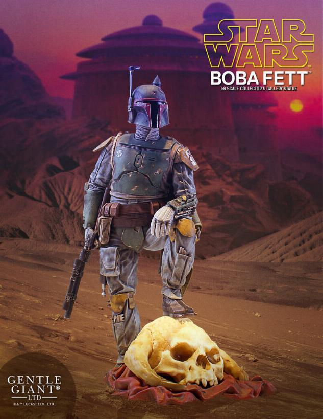 Gentle Giant - Star Wars Boba Fett 1:8th scale statue  Boba_c33