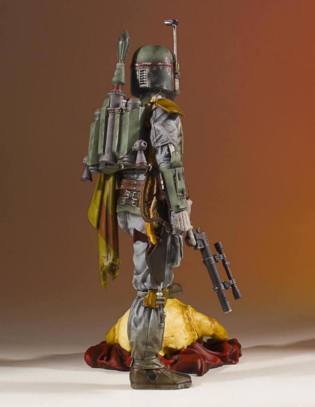Gentle Giant - Star Wars Boba Fett 1:8th scale statue  Boba_c34