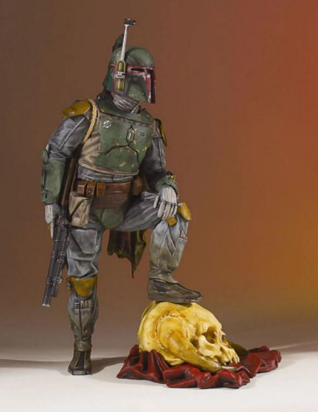 Gentle Giant - Star Wars Boba Fett 1:8th scale statue  Boba_c35