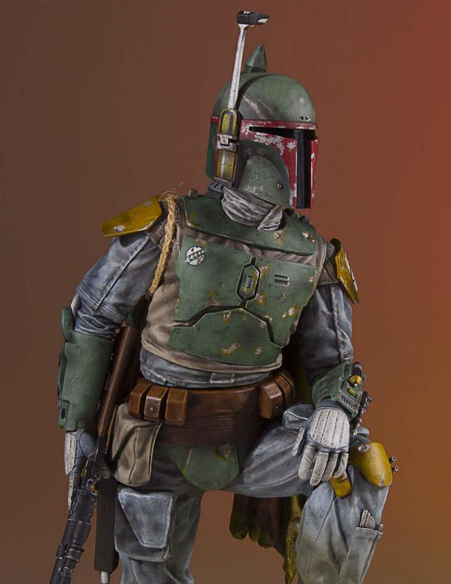 Gentle Giant - Star Wars Boba Fett 1:8th scale statue  Boba_c38
