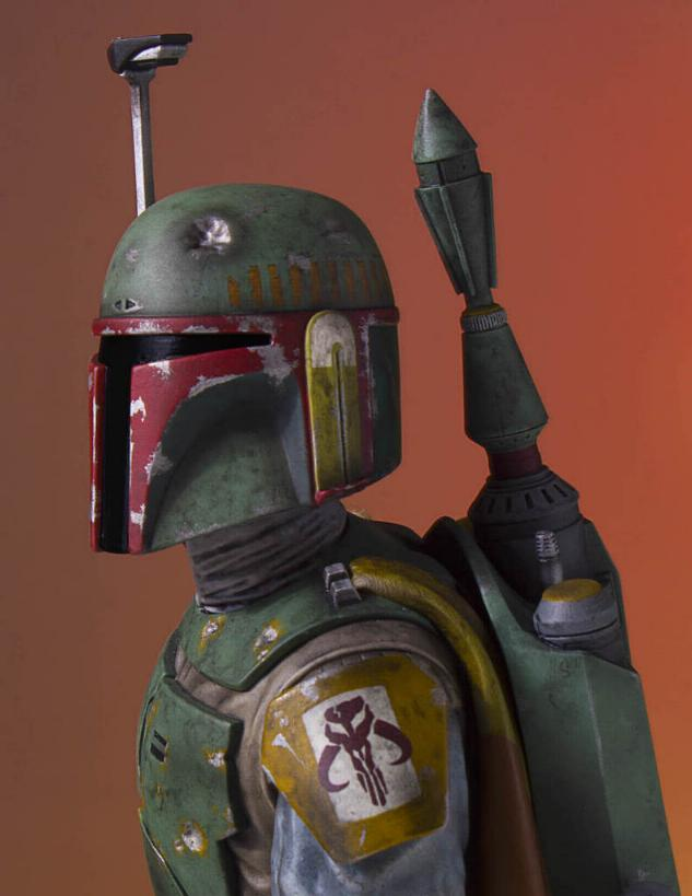 Gentle Giant - Star Wars Boba Fett 1:8th scale statue  Boba_c39