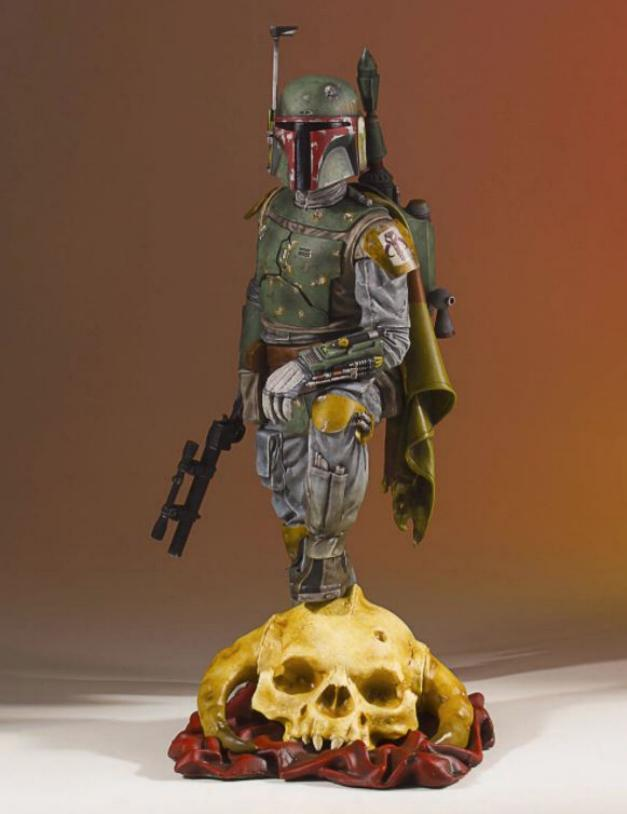Gentle Giant - Star Wars Boba Fett 1:8th scale statue  Boba_c40