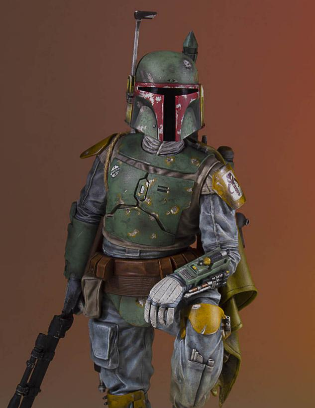 Gentle Giant - Star Wars Boba Fett 1:8th scale statue  Boba_c42