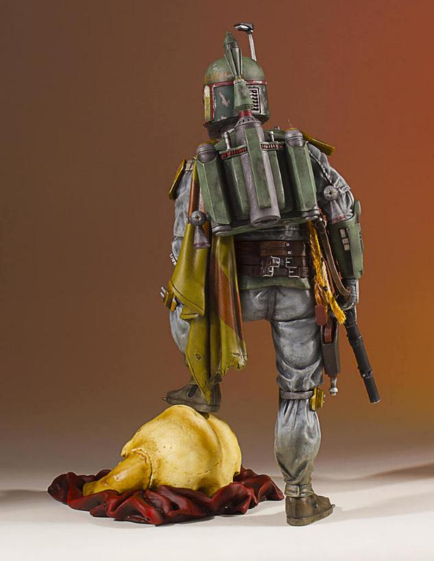 Gentle Giant - Star Wars Boba Fett 1:8th scale statue  Boba_c43