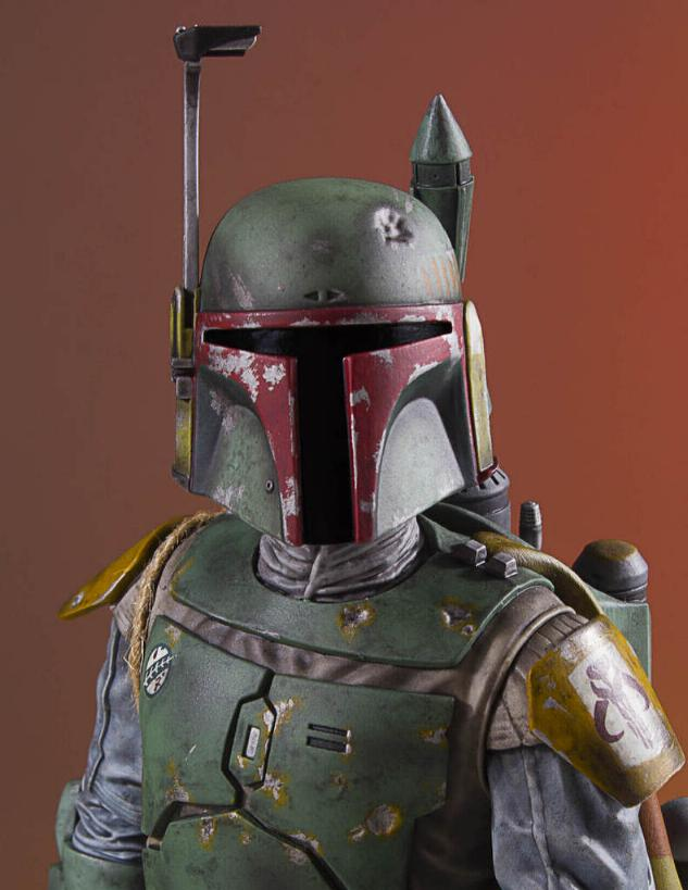 Gentle Giant - Star Wars Boba Fett 1:8th scale statue  Boba_c44