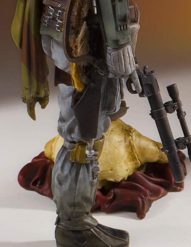 Gentle Giant - Star Wars Boba Fett 1:8th scale statue  Boba_c45