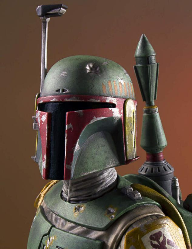 Gentle Giant - Star Wars Boba Fett 1:8th scale statue  Boba_c46