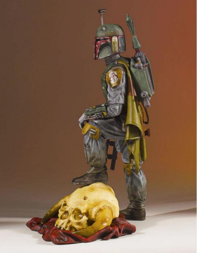 Gentle Giant - Star Wars Boba Fett 1:8th scale statue  Boba_c47