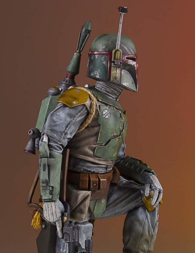 Gentle Giant - Star Wars Boba Fett 1:8th scale statue  Boba_c48