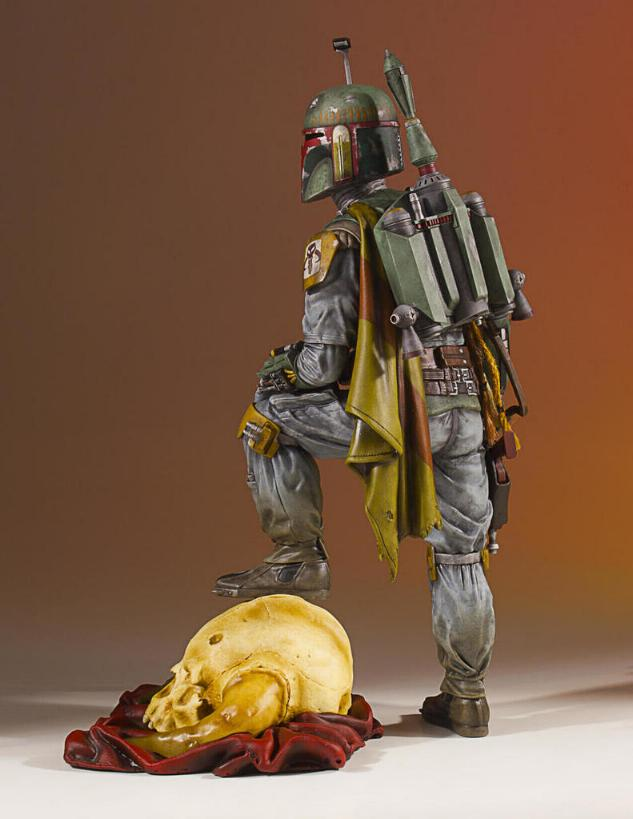 Gentle Giant - Star Wars Boba Fett 1:8th scale statue  Boba_c49