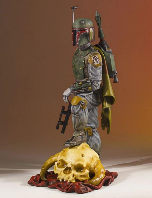 Gentle Giant - Star Wars Boba Fett 1:8th scale statue  Boba_c50