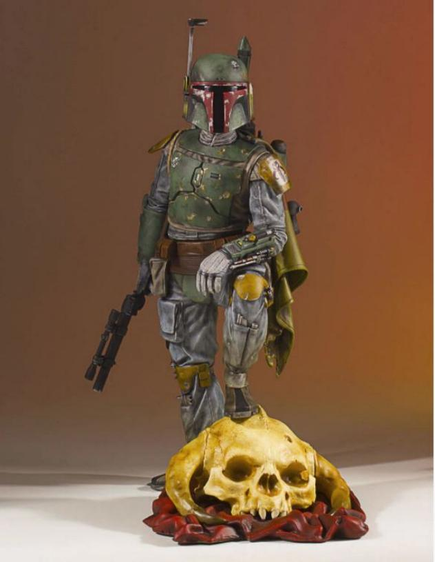 Gentle Giant - Star Wars Boba Fett 1:8th scale statue  Boba_c51