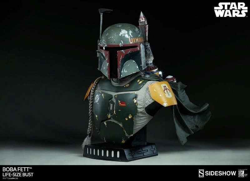 Sideshow Collectibles - Boba Fett Life-Size Bust Boba_l12