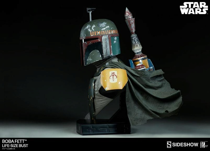 Sideshow Collectibles - Boba Fett Life-Size Bust Boba_l15