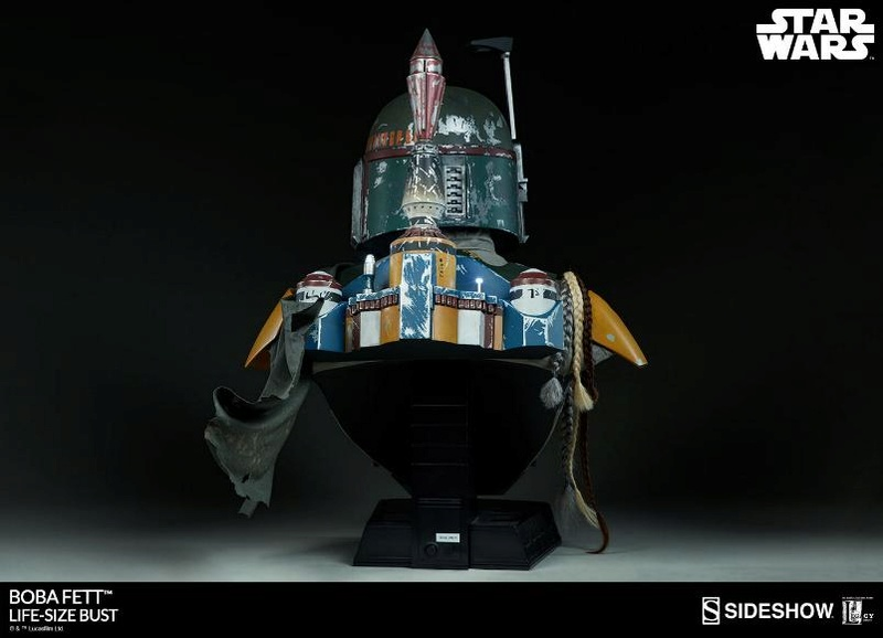 Sideshow Collectibles - Boba Fett Life-Size Bust Boba_l16