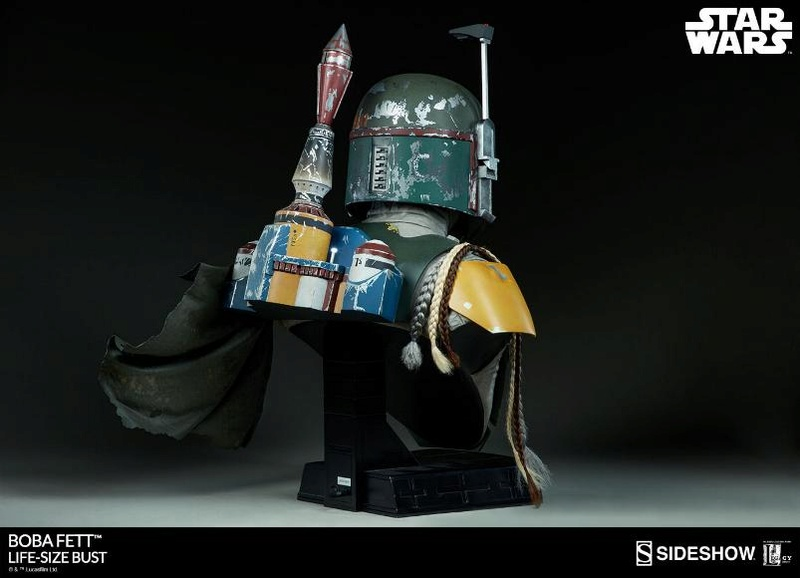 Sideshow Collectibles - Boba Fett Life-Size Bust Boba_l17