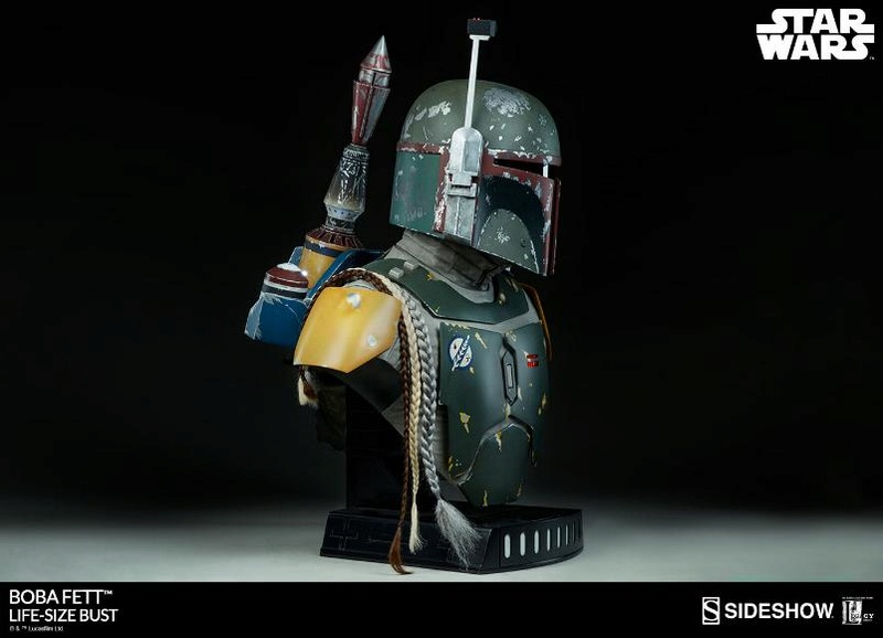 Sideshow Collectibles - Boba Fett Life-Size Bust Boba_l18