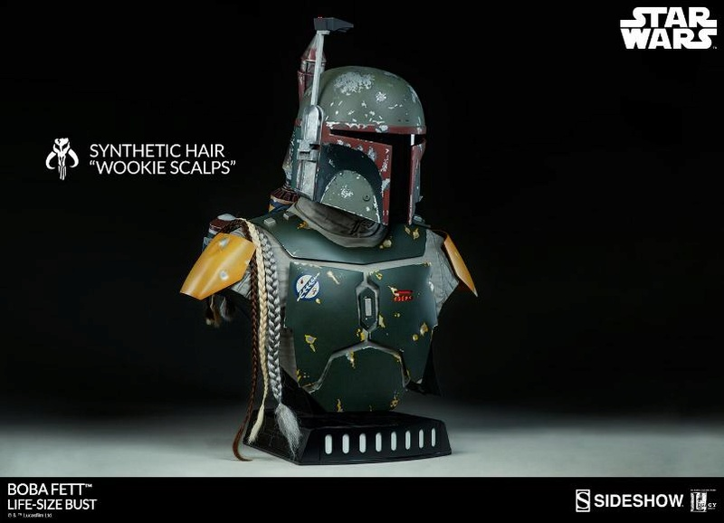 Sideshow Collectibles - Boba Fett Life-Size Bust Boba_l20