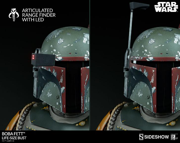 Sideshow Collectibles - Boba Fett Life-Size Bust Boba_l21