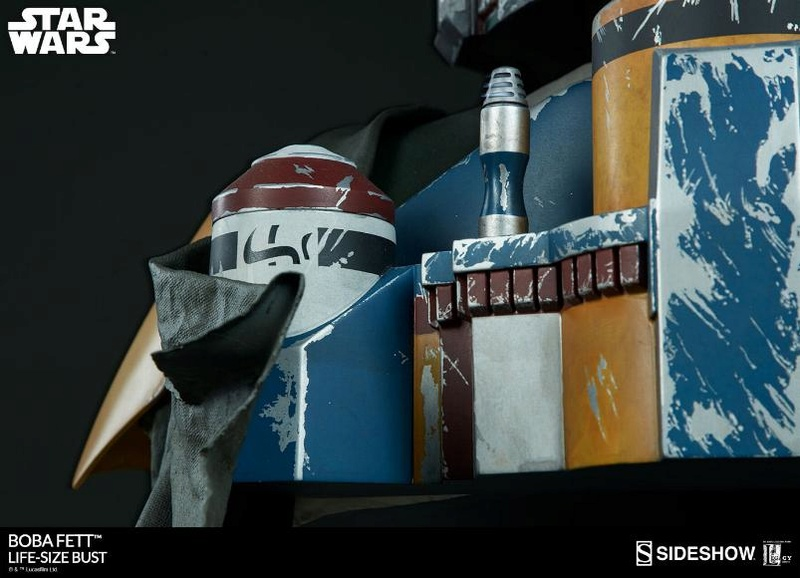 Sideshow Collectibles - Boba Fett Life-Size Bust Boba_l27