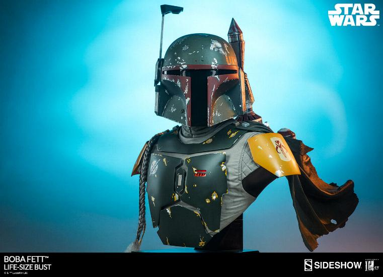 Sideshow Collectibles - Boba Fett Life-Size Bust Boba_l36