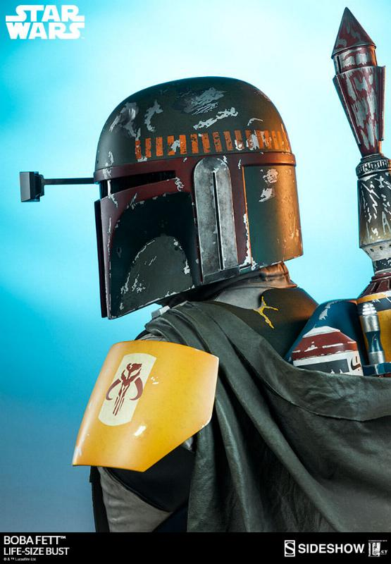 Sideshow Collectibles - Boba Fett Life-Size Bust Boba_l37