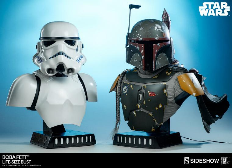 Sideshow Collectibles - Boba Fett Life-Size Bust Boba_l38