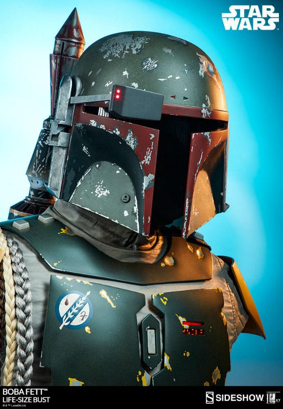 Sideshow Collectibles - Boba Fett Life-Size Bust Boba_l39