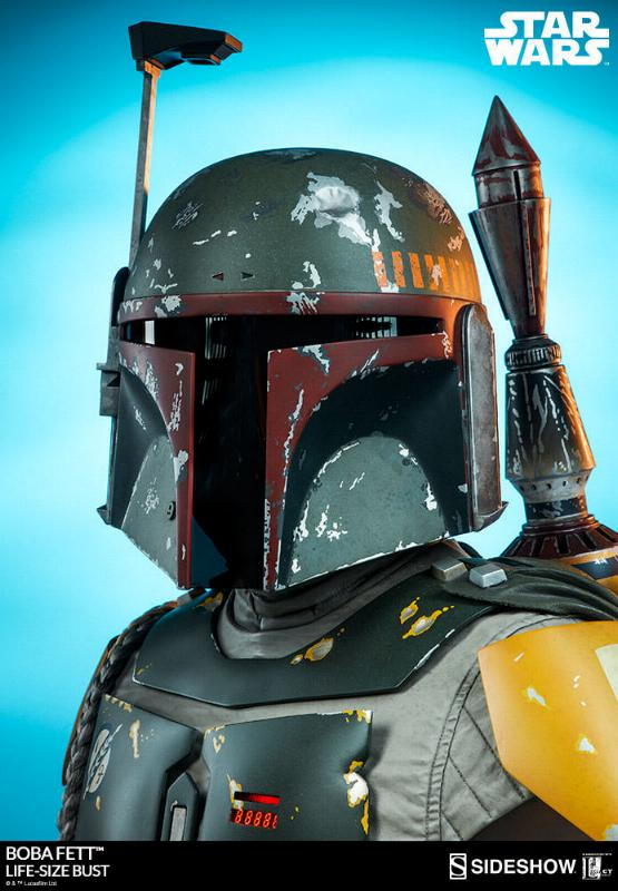 Sideshow Collectibles - Boba Fett Life-Size Bust Boba_l40