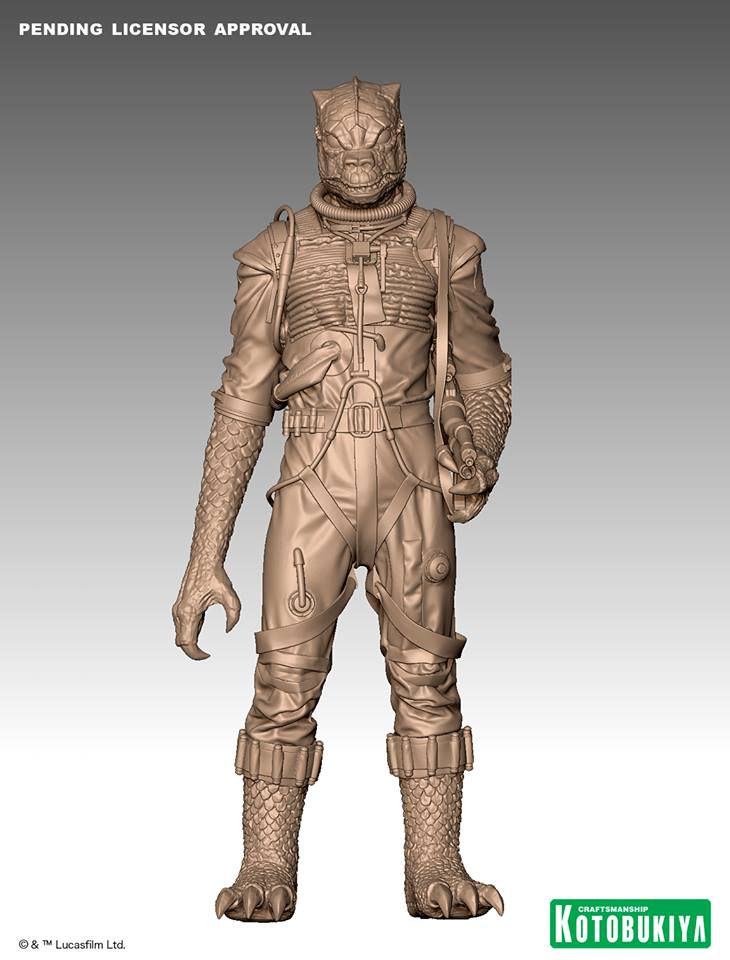 Kotobukiya - Star Wars ESB - Bossk ARTFX+ Statue Bossk_10