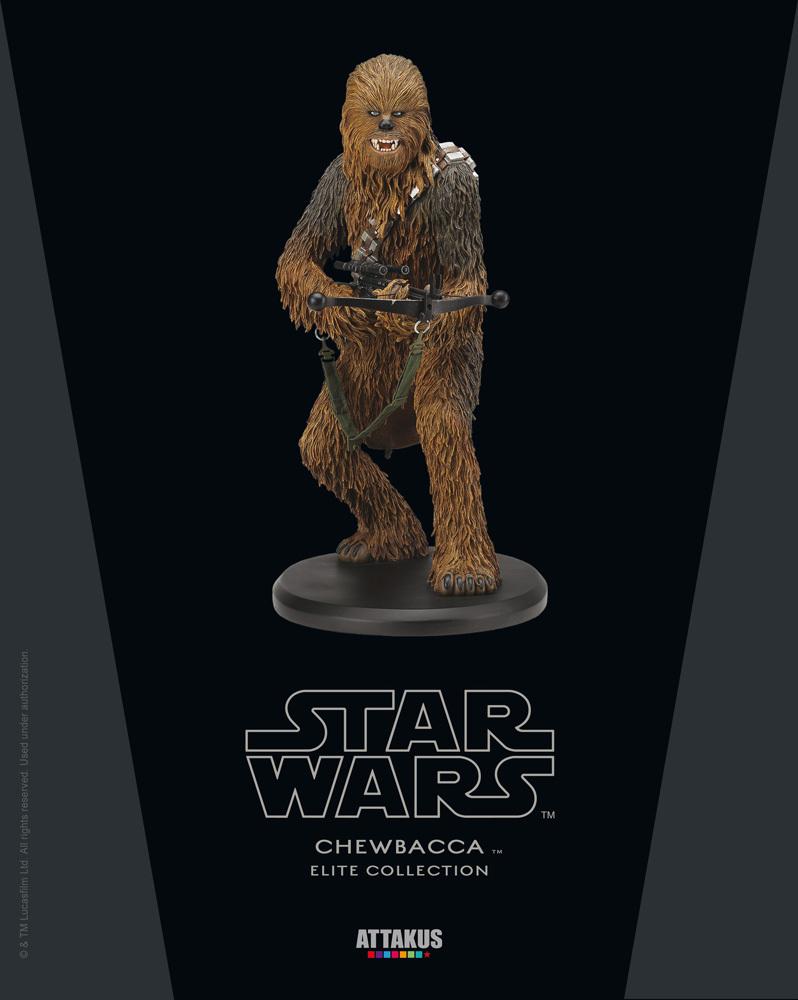 ATTAKUS - Star Wars Elite Collection 1/10 Chewbacca Statue Chewie10