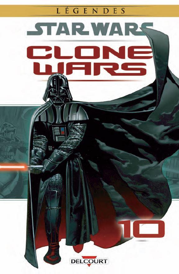 DELCOURT - Star Wars Clone Wars Tome 10 Clonew10