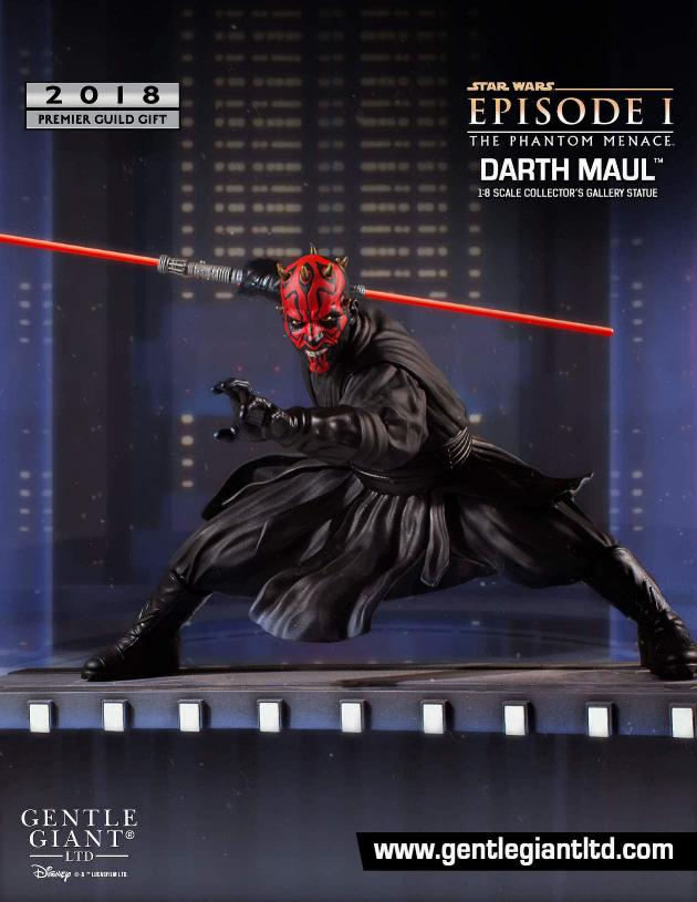 Gentle Giant PGM 2018 - Darth Maul Collector Gallery Statue Darth_10
