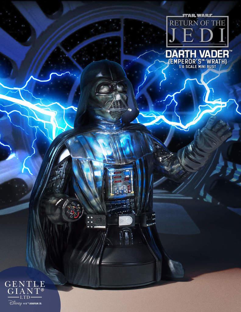 Gentle Giant Star Wars Emperor's Wrath Darth Vader mini bust Darthv10