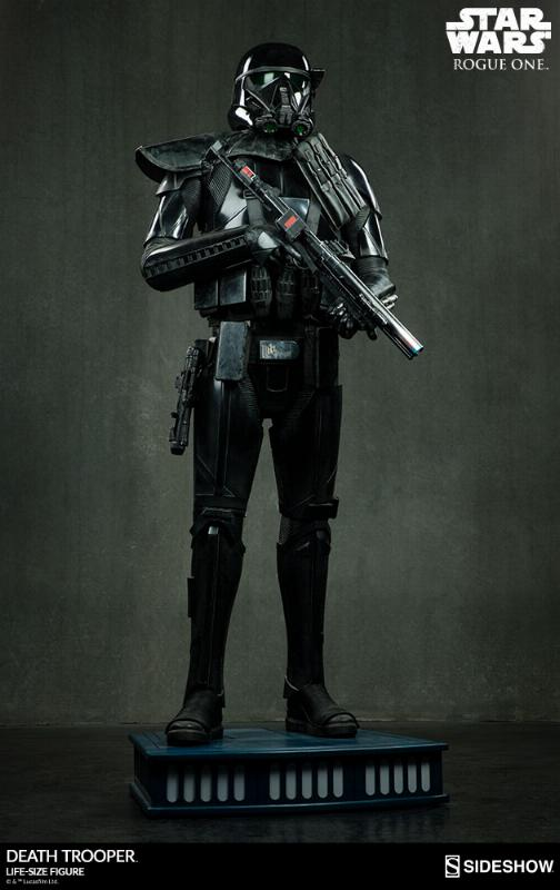 Sideshow Star Wars Rogue One Death Trooper Life-Size Figure Deatht11