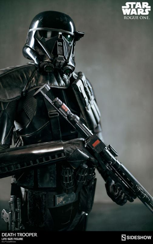 Sideshow Star Wars Rogue One Death Trooper Life-Size Figure Deatht12