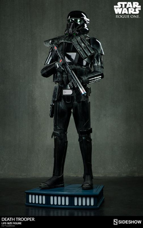 Sideshow Star Wars Rogue One Death Trooper Life-Size Figure Deatht15