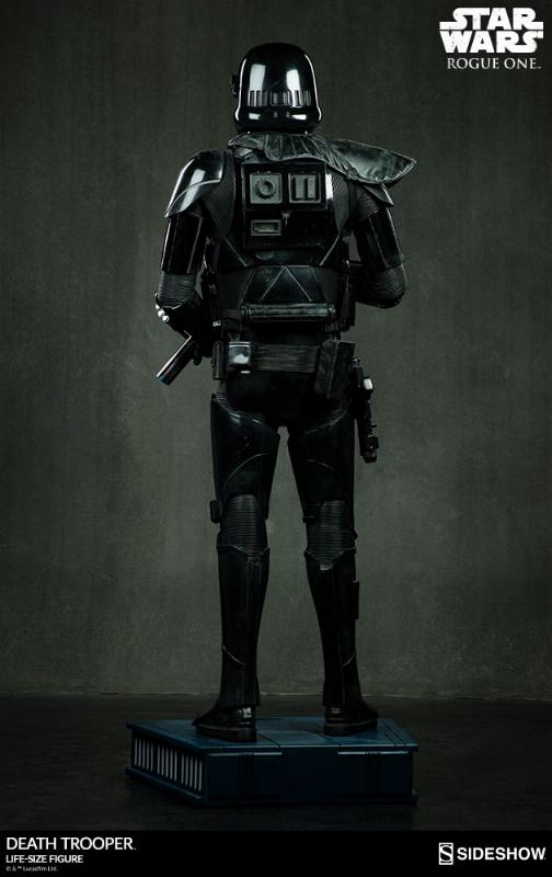 Sideshow Star Wars Rogue One Death Trooper Life-Size Figure Deatht16