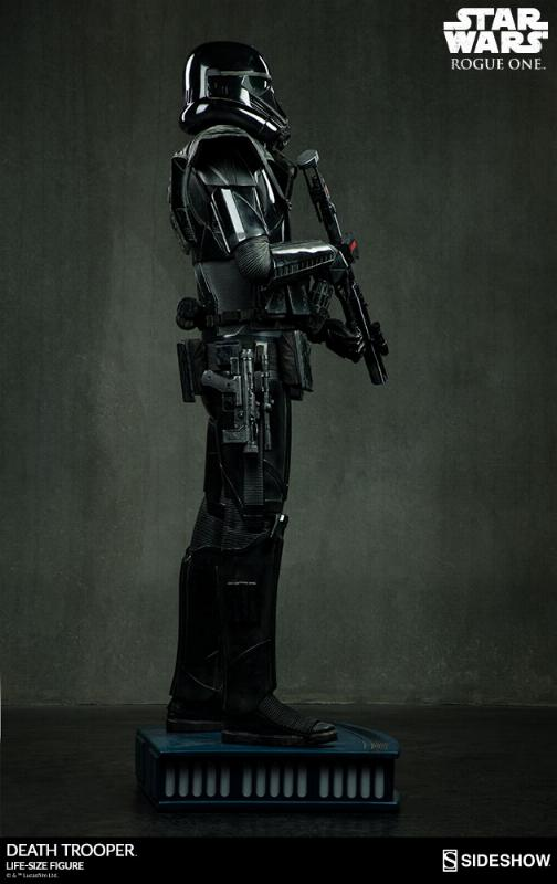 Sideshow Star Wars Rogue One Death Trooper Life-Size Figure Deatht18