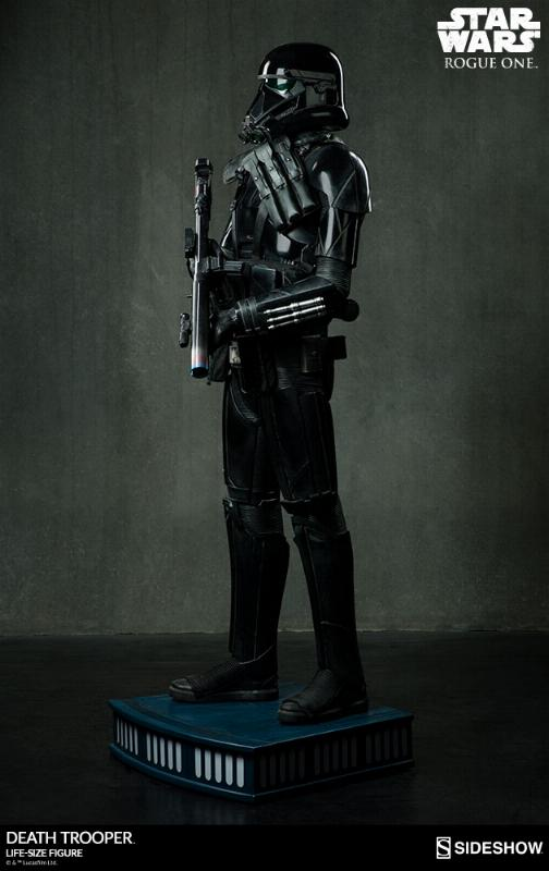 Sideshow Star Wars Rogue One Death Trooper Life-Size Figure Deatht21