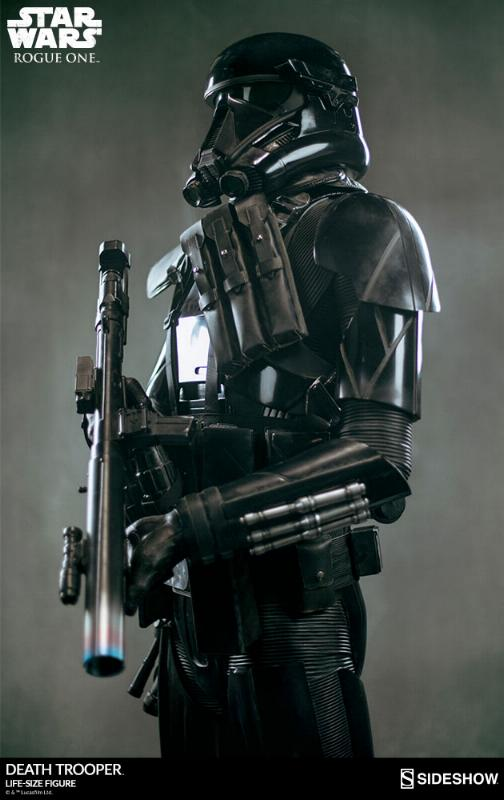 Sideshow Star Wars Rogue One Death Trooper Life-Size Figure Deatht41