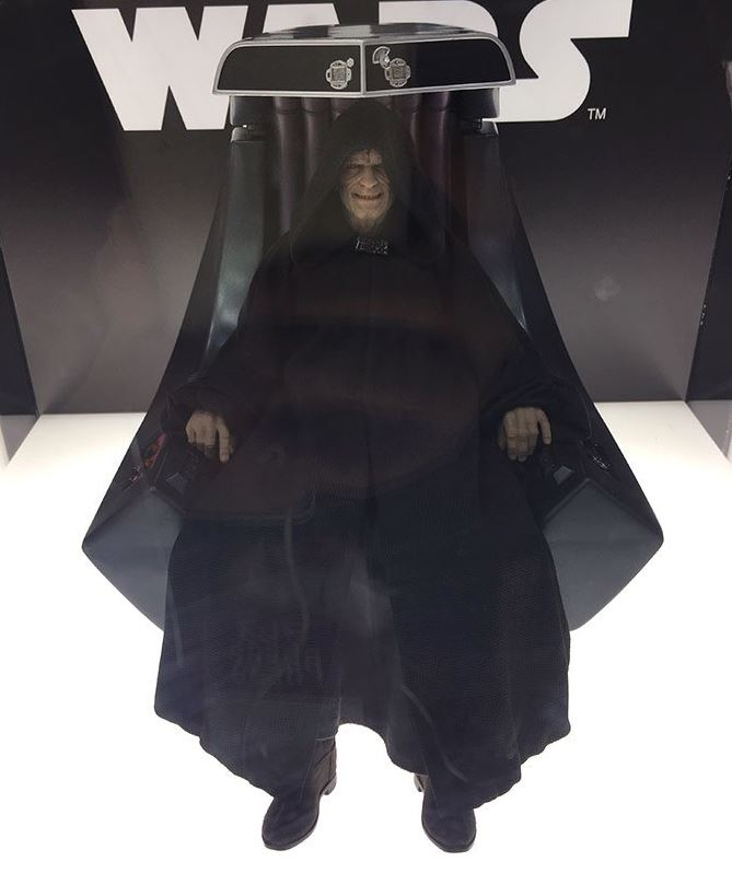 Hot Toys Star Wars - Emperor Palpatine Sixth Scale Figure   Empere32